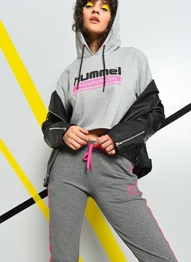 Hummel Kapüşonlu Sweatshirt Gri